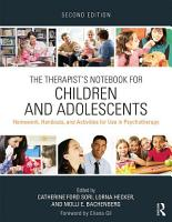 The Therapist s Notebook for Children and Adolescents PDF