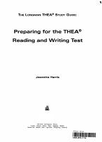 Longman Thea Study Guide PDF
