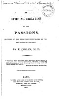 An Ethical Treatise on the Passions  Founded on the Principles Investigated in the Philosophical Treatise PDF