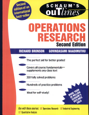 Schaum s Outline of Operations Research PDF