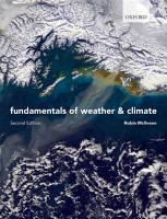 Fundamentals of Weather and Climate PDF