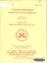 A Glossary of Ecological Terms for Coastal Engineers PDF