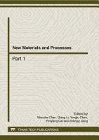 New Materials and Processes PDF