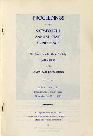 Proceedings of the Annual State Conference PDF
