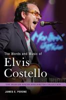 The Words and Music of Elvis Costello PDF