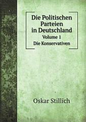 Die Politischen Parteien in Deutschland: Band 1
