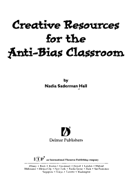Creative Resources for the Anti bias Classroom