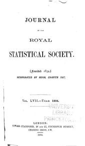 Journal of the Royal Statistical Society: Volume 57
