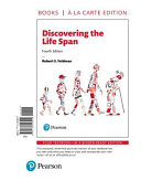 Discovering the Life Span, Books a la Carte Edition