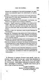 Essai sur la philosophie du Christianisme, considérée dans ses rapports avec la philosophie moderne: Volume2