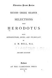 ... Second Greek reader: selections from Herodotus with introduction, notes and vocabulary