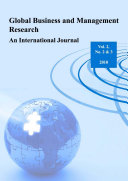 Global Business and Management Research: An International Journal Vol.2, No. 2 & 3