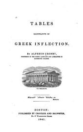Tables Illustrative of Greek Inflection
