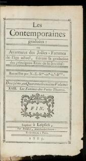Les Contemporaines, ou Avantures des plus jolies Femmes de l'âge présent: ¬Les Fammes-des-Petits-Theatres. 42