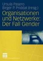 Organisationen Und Netzwerke PDF