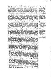 Advis op de requeste van dijkgraaf en heemraaden van den Zeeburg en Diemerdijk [...] om subsidie tot soulaas der landen. 29 maart 1735