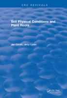 Soil Physical Conditions and Plant Roots PDF