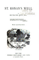 Download The Waverley Novels  St  Ronan s well  The black dwarf  A legend of Montrose  The Bride of Lammermoor Book