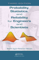 Probability  Statistics  and Reliability for Engineers and Scientists  Third Edition