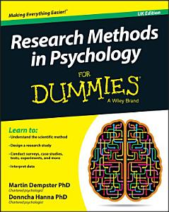 Research Methods in Psychology For Dummies Book
