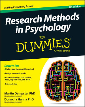 Research Methods in Psychology For Dummies PDF