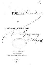 Poesías de Juan María Gutierrez