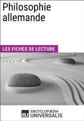 Philosophie allemande: Les Fiches de lecture d'Universalis