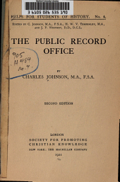 The Public Record Office: Volume 41