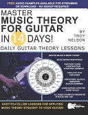 Master Music Theory for Guitar in 14 Days