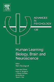 Human Learning  Biology  Brain  and Neuroscience Book