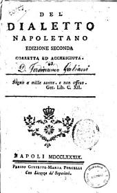 Del dialetto napoletano [Galiani]