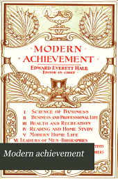Modern Achievement: Volume 7