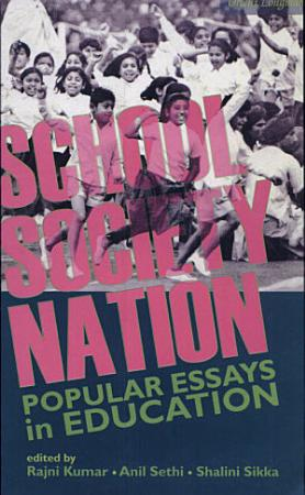 School  Society  Nation PDF