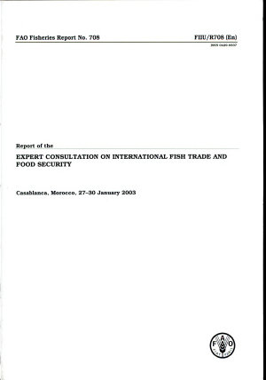 Report of the Expert Consultation on International Fish Trade and Food Security PDF
