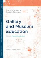 Gallery and Museum Education  Purpose  Pedagogy and Practice PDF