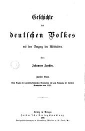 Geschichte des deutschen Volkes seit dem Ausgang des Mittelalters: Band 2