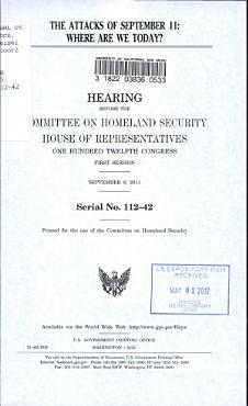 The Attacks of September 11 PDF