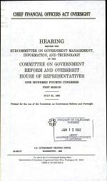 Chief Financial Officers Act Oversight