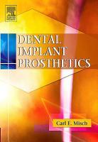 Dental Implant Prosthetics   E Book PDF