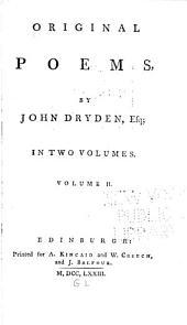 Original Poems: Volume 2