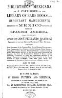 Bibliotheca Mexicana PDF