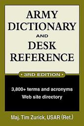 Army Dictionary and Desk Reference