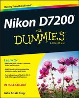 Nikon D7200 For Dummies PDF