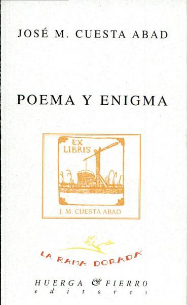 Poema y enigma