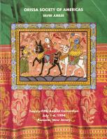Orissa Society of Americas 25th Annual Convention Souvenir PDF