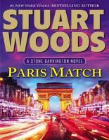 Paris Match   Stuart Woods PDF