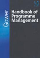 Gower Handbook of Programme Management PDF