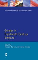 Gender in Eighteenth Century England PDF