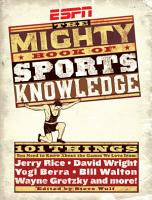 ESPN  The Mighty Book of Sports Knowledge PDF
