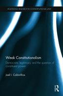 Weak Constitutionalism PDF